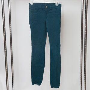 J Brand 811 Mid-Rise Skinny Jeans Pants 24x28